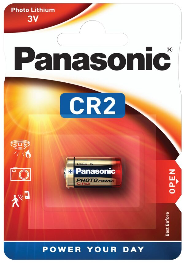 Liitium patarei Panasonic CR2