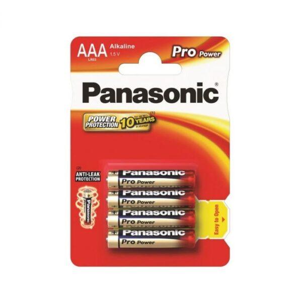 Alkaline patarei Panasonic Pro Power AAA/LR03