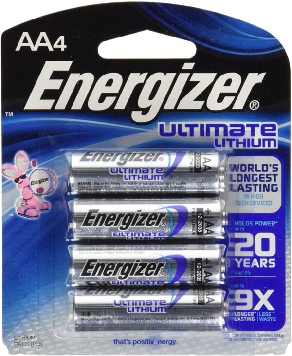 Energizer Ultimate Lithium AA L91