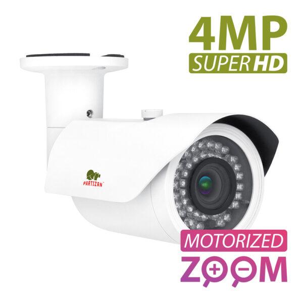 Kaamera (Välikest/objektiiv/) PARTIZAN IPO-VF4MP AF POE, 4.0Mp AutoFocus