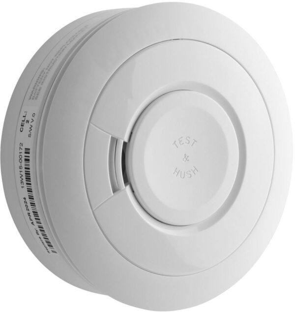 Honeywell DFS8M Wireless Smoke sensor with built-in sounder Battery