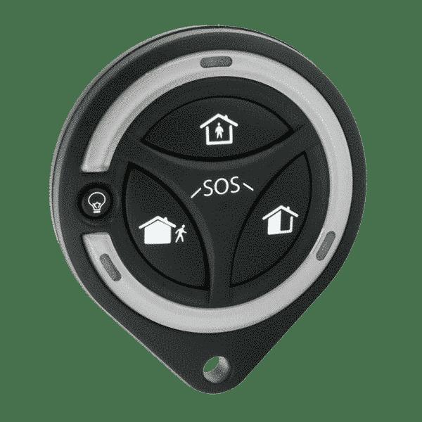Four-button compact two-way keyfob TCC8M