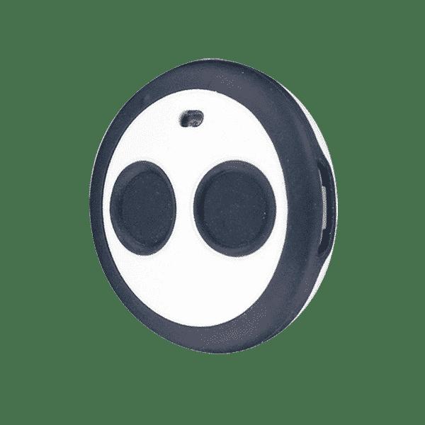 Panic button one LED keyfob TCPA2B